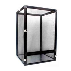 Black Aluminum Chameleon Enclosure